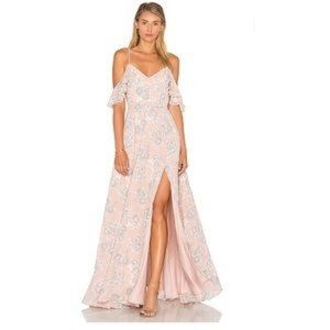 LOVERS + FRIENDS taylor floral gown